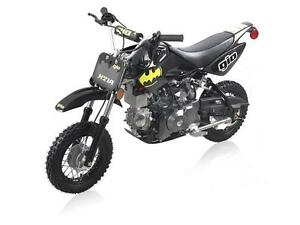 NEW Gio Batman SUPER AUTOMATIC DIRT BIKES WITH ELECTRIC START!!