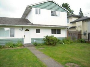 Coquitlam W 4 Bdrm House For Rent (Close to Burquitlam Skytrain)