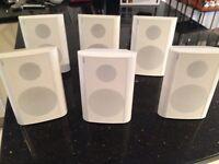 Indooor/outdoor Jamo speakers x 6