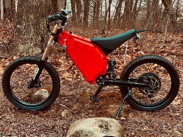Stealt style X52 5000W electric dirt bike