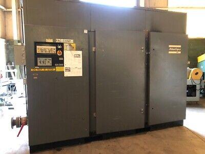 250 Hp Atlas Copco Air Compressor Hp 250 Maximum Psi 217.5