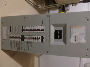 200A Sylvania Commander Electrical Panel with Breakers