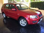 2010 Ford Territory SY Mkii TS (RWD) Red 4 Speed Auto Seq Sportshift Wagon South Toowoomba Toowoomba City Preview