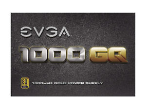 POWER SUPPLY UNIT - 1000W GQ - 80+  GOLD - semi-modulaire