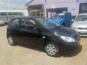 2008 Hyundai Getz TB Upgrade S Black 5 Speed Manual Hatchback North St Marys Penrith Area Preview