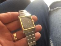Near Mint Condition Omega 18k Gold and Stainless Steel Seamaster Watch-Just Fully Serviced Only £400