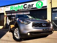 INFINITI FX35 AWD - Leather, Moonroof - Loaded !
