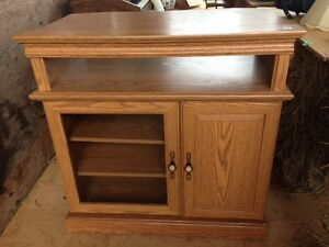 For Sale: Oak TV Stand