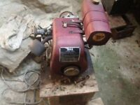 Vintage BSA Stationary Engine Power Unit Petrol