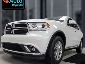 2017 Dodge Durango SXT AWD with sunroof, heated seats and steeri