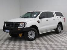 2012 Ford Ranger PX XL 3.2 (4x4) White 6 Speed Automatic Dual Cab Utility Hillman Rockingham Area Preview
