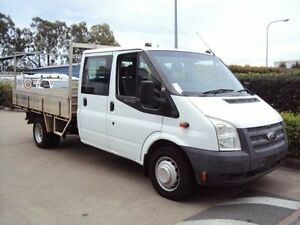 2012 Ford Transit VM LWB Frozen White 6 Speed Manual Cab Chassis Acacia Ridge Brisbane South West Preview