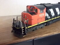 Model trains, Locomotives and cars