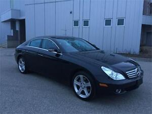 2006 MERCEDES BENZ CLS500 86KM LEATHER SUNROOF