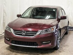 2015 Honda Accord Sport Sedan w/ Extended Warranty, Sunroof, Blu