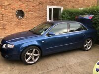 Used Audi car (good condition however has a faulty oil pump and minor damage at front)