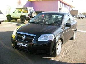 2010 Holden Barina TK MY10 Black 4 Speed Automatic Sedan Camden Camden Area Preview