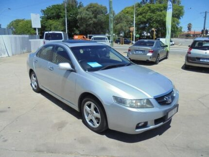 2004 Honda Accord Euro CL Luxury Silver 5 Speed Automatic Sedan Bayswater Bayswater Area Preview
