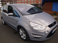 62 FORD S-MAX 2.0TDCi ( 140ps ) POWER SHIFT /TITANIUM/CRUISE//SATNAV//CLIMATE//