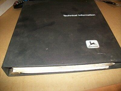 Originaljohn Deere Walk Behind Mowertechnical Manualdealer Bindertm 1235