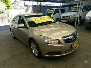 2010 Holden Cruze JG CD Gold 6 Speed Auto Sports Mode Sedan Five Dock Canada Bay Area Preview