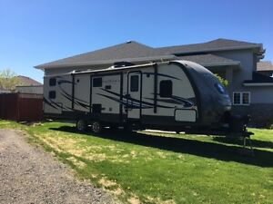 2014 Sunset Trail Reserve 31' rear bunk house