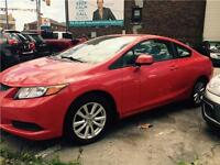 2012 Honda Civic EX-COUPE-SUNROOF-WE FINANCE-100% APPROVED