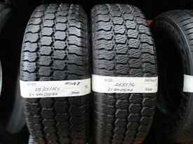 U121 2X 215/65/16C 104/104T GOODYEAR CARGO VECTOR 2X9MM TREAD