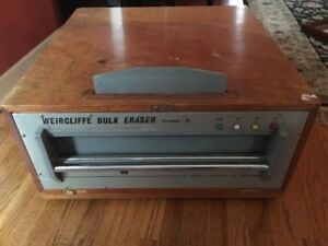 WEIRCLIFFE magnetic Tape Bulk Eraser Model 9