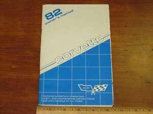 1982-Chevrolet-Corvette-Owner-039-s-Manual