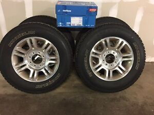 2011 Ford F-350 King Ranch take off Tires/Rims - Brand New