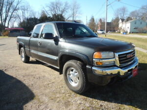 2003 GMC 4X4 LOW KMS 140, CERT CARPROOF WARRANTY$7500