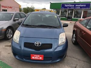 2008 TOYOTA YARIS LE ,Safety,1.5L,5DR, Automatic,Remote starter