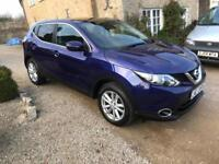 2014(14) Nissan Qashqai 1.5dCi Acenta Premium ONLY 29,000 MILES IMMACULATE