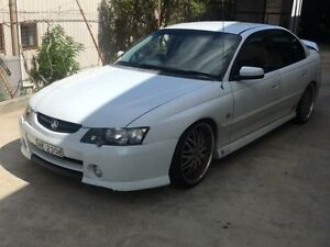 2003 Holden Commodore VY SS White 4 Speed Automatic Sedan Macquarie Hills Lake Macquarie Area Preview