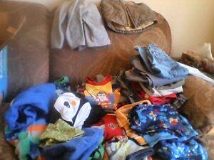 BOX OF TONES OF CLOTHES