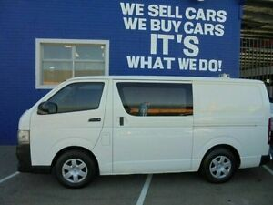 2011 Toyota Hiace KDH201R MY11 LWB White 5 Speed Manual Van Welshpool Canning Area Preview