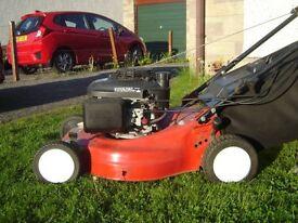 Honda lazer petrol mower, self propelled powerful mower