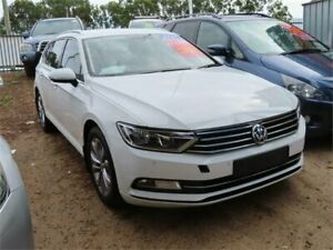 2017 Volkswagen Passat 3C (B8) MY18 132TSI DSG White 7 Speed Sports Automatic Dual Clutch Wagon Minchinbury Blacktown Area Preview