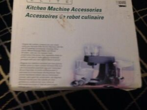 Kenmore Elite Kitchen Machine Accessories