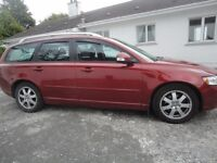 2012 Volvo V50. MOT to 23/05/18. Free Road Tax