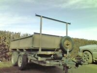 ifor williams tipping trailer 8x5 manual tip