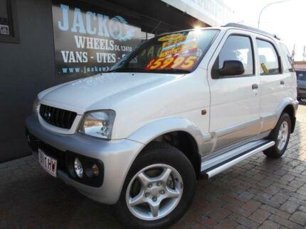 2004 Daihatsu Terios SX (4x4) White 4 Speed Automatic 4x4 Wagon
