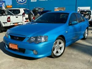2005 Ford Falcon BA Mk II XR6 Blue 4 Speed Sports Automatic Sedan Greenslopes Brisbane South West Preview