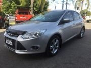 2013 Ford Focus LW MKII Trend PwrShift Silver 6 Speed Sports Automatic Dual Clutch Hatchback Wodonga Wodonga Area Preview