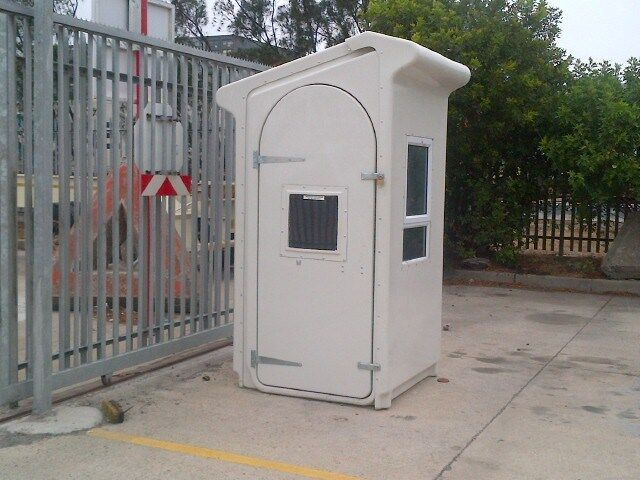 FIBREGLASS SECURITY HUTS FOR SALE