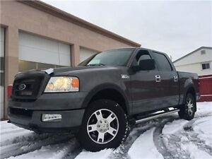 2005 Ford F-150 FX4 197K 4X4 = CREW CAB = LEATHER - SUNROOF