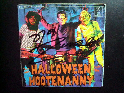 SIGNED ROB ZOMBIE HALLOWEEN HOOTENANNY (CD) - Rob Zombie Halloween Music