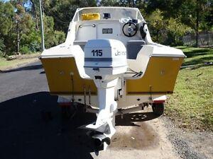 16 ft fibreglass Sportsman craft 1/2 cabin Sydney City Inner Sydney Preview