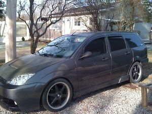 2002 Lowered Ford Focus Wagon